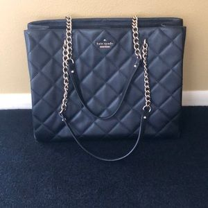 Kate Spade leather quilted purse